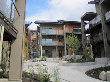Zero-Energy Multifamily Community Opens Its Doors
