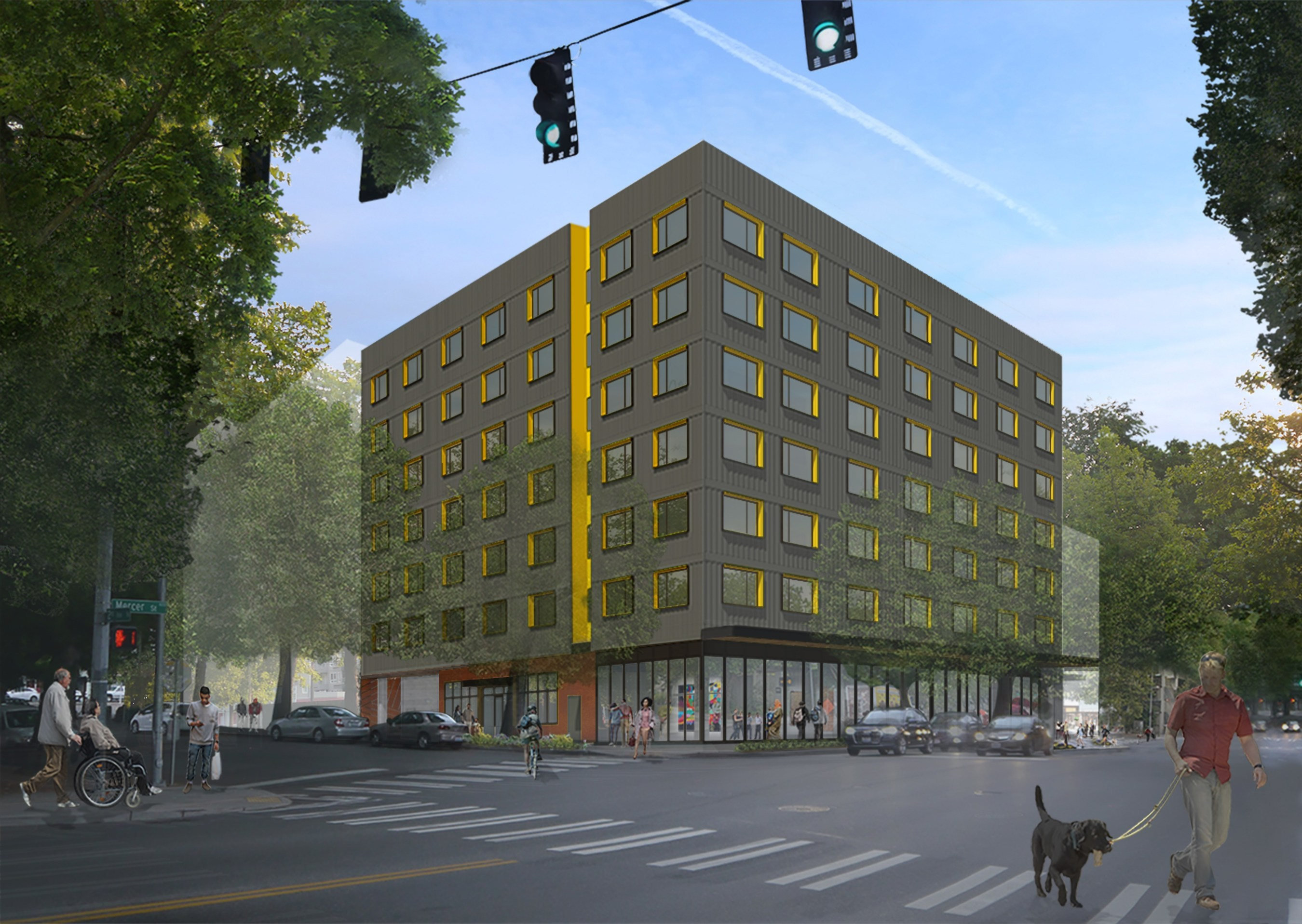 Plymouth Housing Breaks Ground on Affordable Housing for Formerly Homeless in Seattle