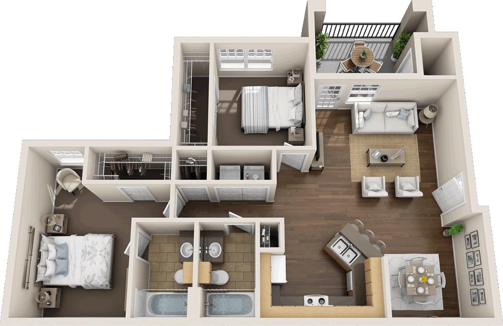 Murdeaux Villas - Floorplan - B1