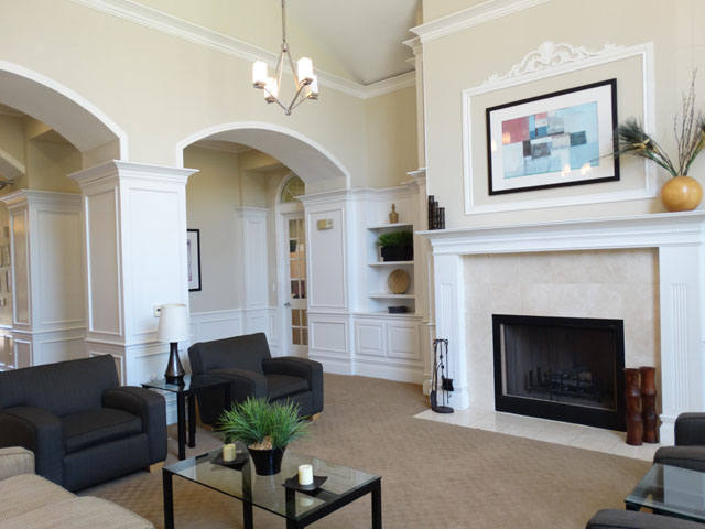 Elegant Clubhouse at Murdeaux Villas Apartments in Dallas, TX