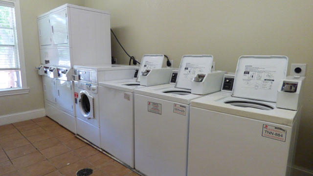 Laundry Center at Murdeaux Villas Apartments in Dallas, TX