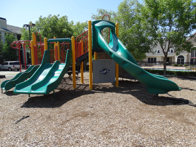 Children's Play Area at Murdeaux Villas Apartments in Dallas, TX