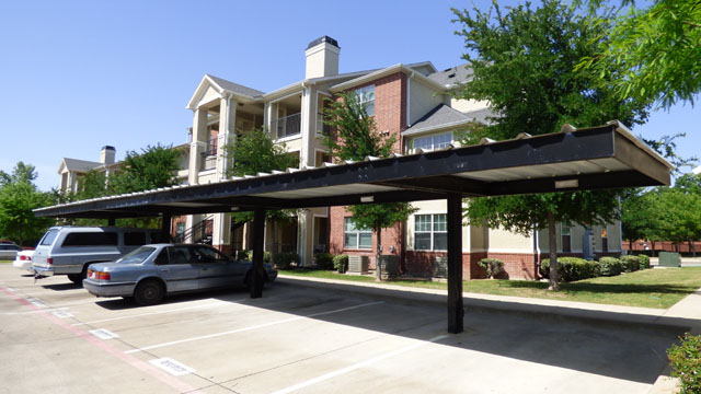 Covered Parking at Murdeaux Villas Apartments in Dallas, TX