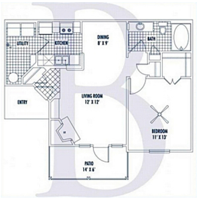 Nelson Pointe Apartment Homes - Floorplan - B
