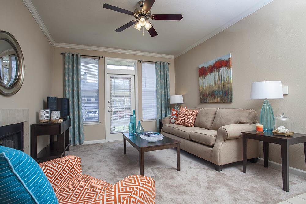 Ceiling Fans at Nelson Pointe Apartments in Lake Charles, Louisiana