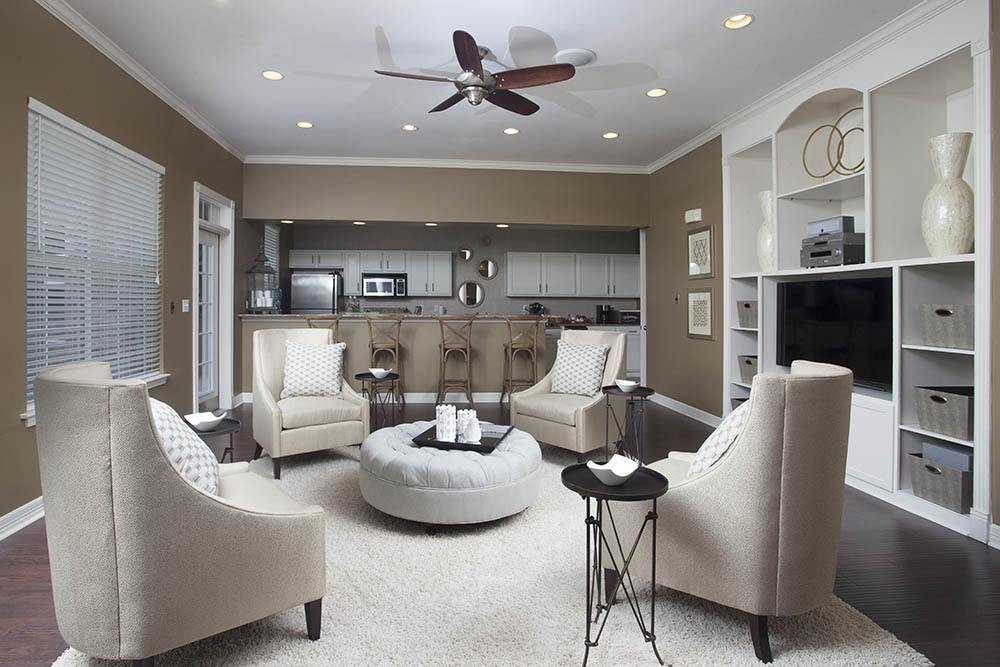 Living Area at Nelson Pointe Apartments in Lake Charles, Louisiana