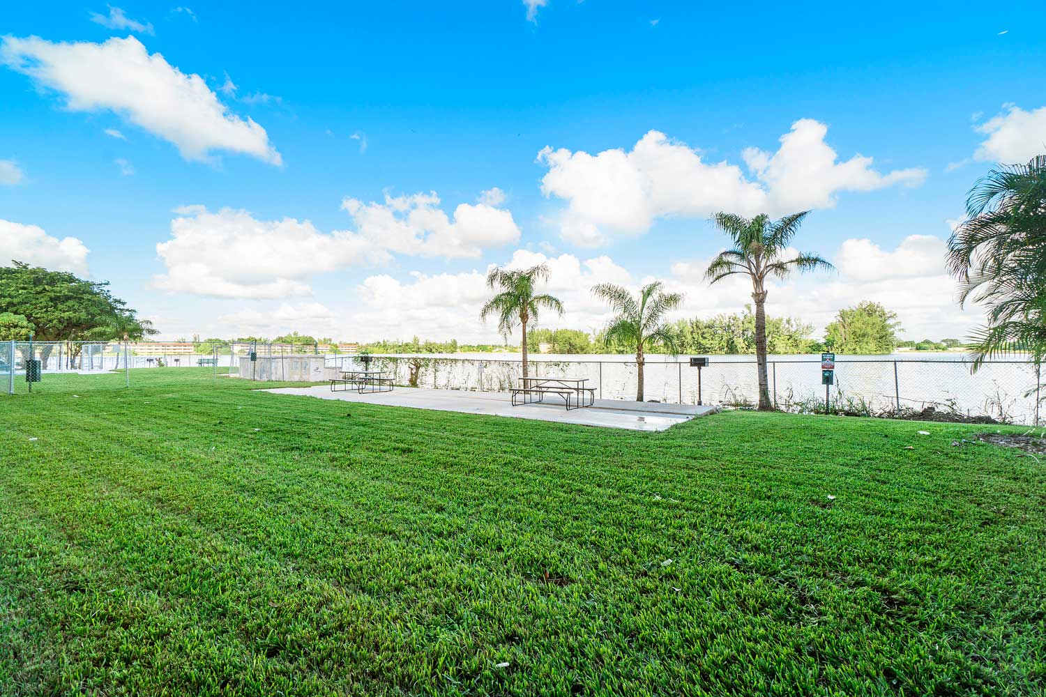 Fresh Air at New Castle Lake Apartments in Miami, FL