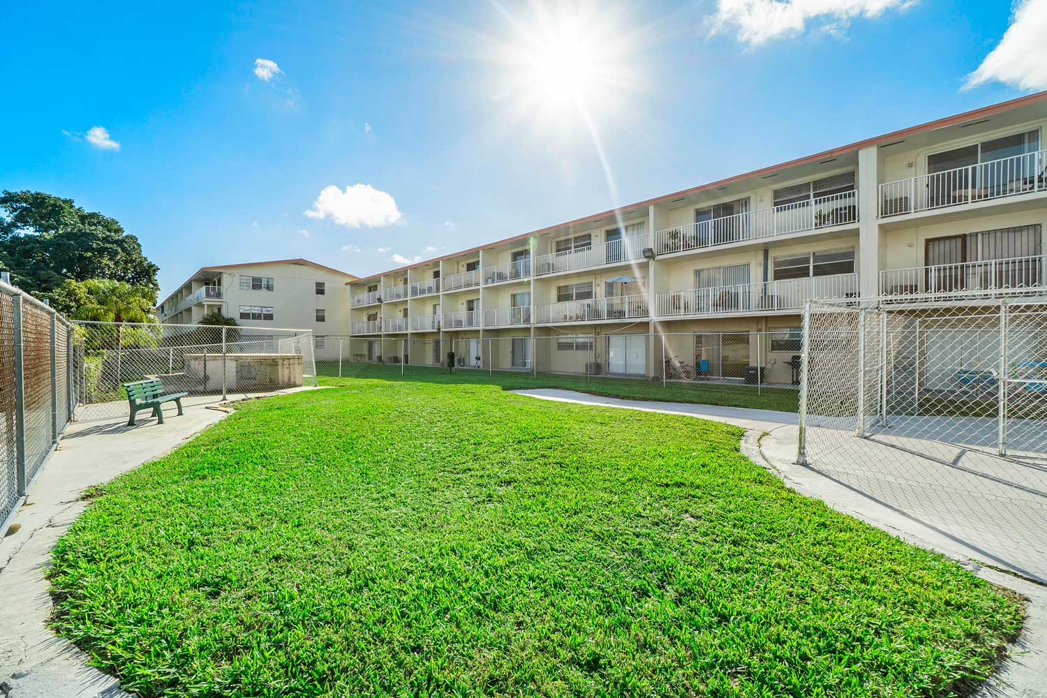 Property View at New Castle Lake Apartments in Miami, FL