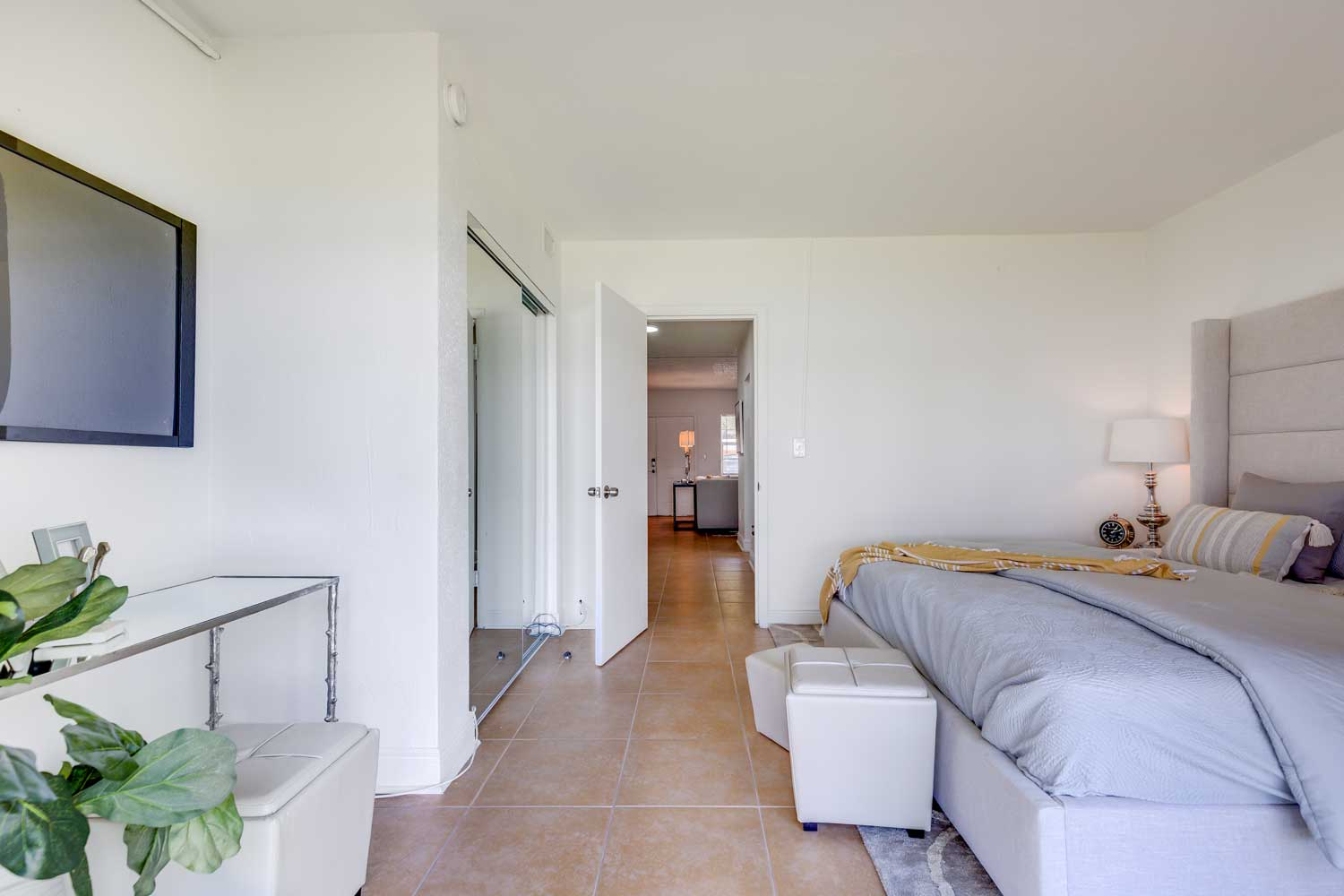 Two Bedroom Floor Plans at New Castle Lake in Miami, FL