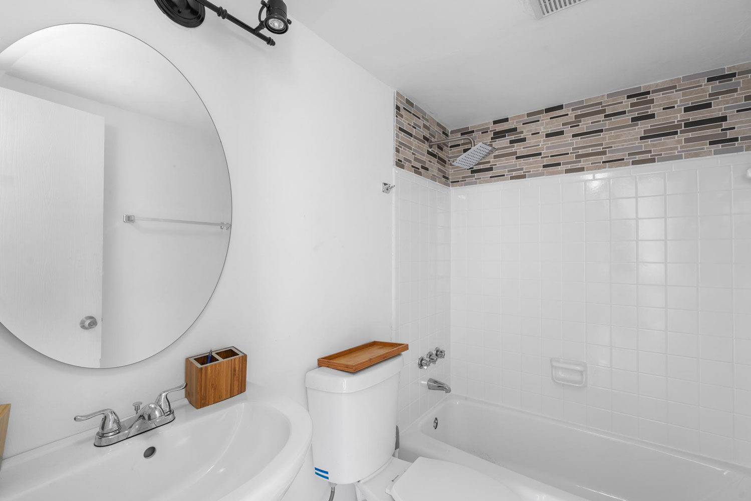 Bathroom Vanity at New Castle Lake Apartments in Miami, FL