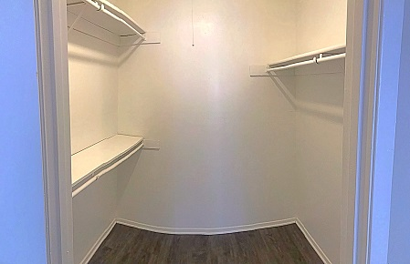 Spacious Walk-In Closets at The Cassidy at Western Hills Apartments in Fort Worth, Texas