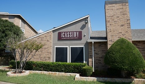 Leasing Center at The Cassidy at Western Hills Apartments in Fort Worth, Texas