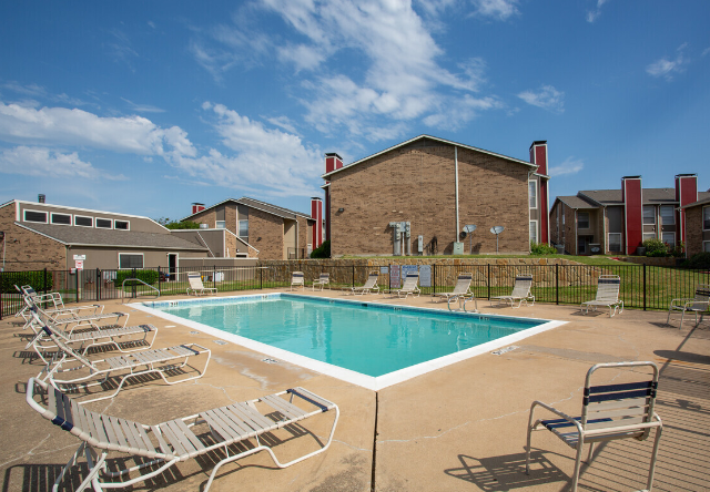 Sparkling, Relaxing Swimming Pool at The Cassidy at Western Hills Apartments in Fort Worth, Texas