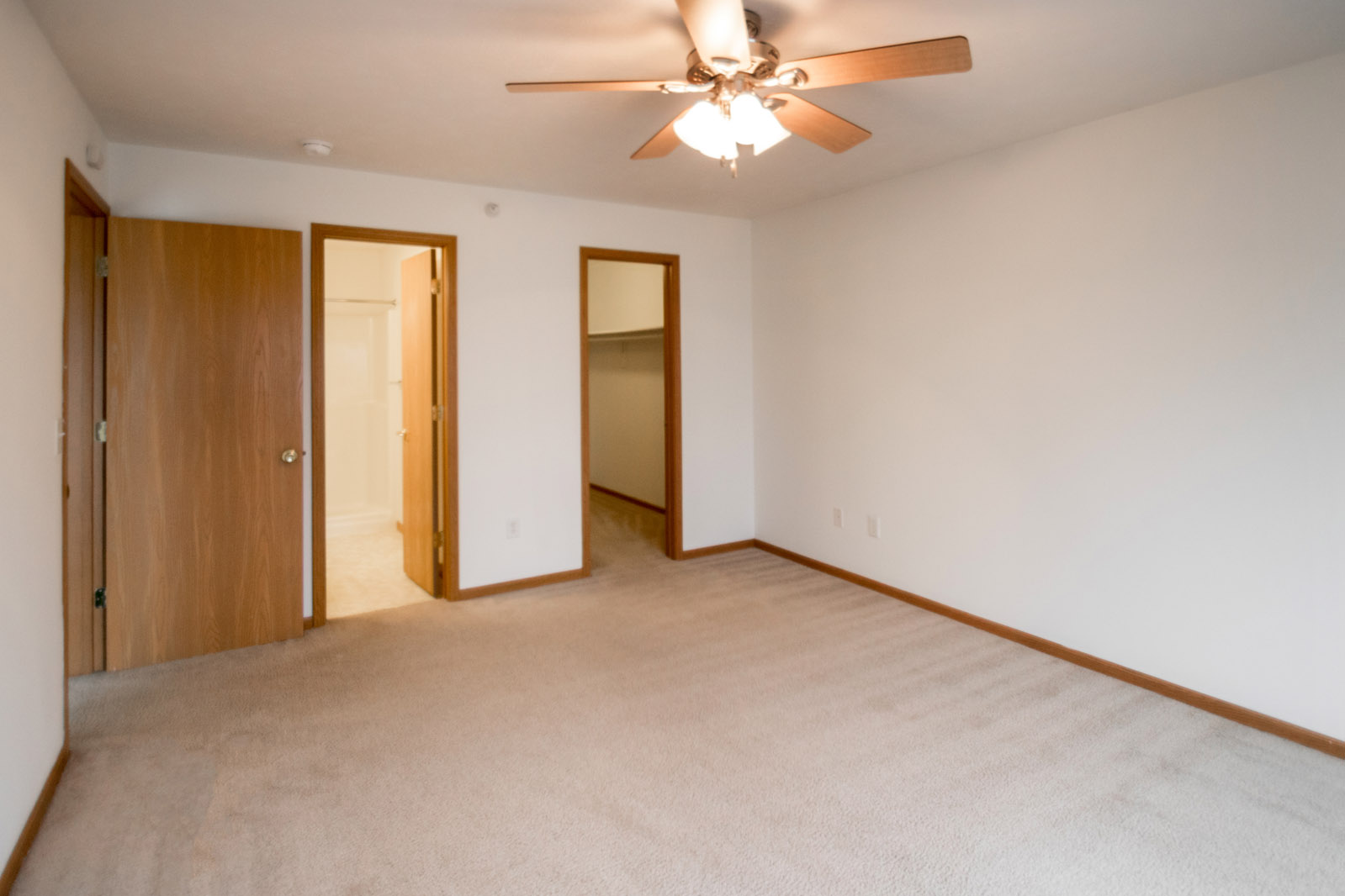 Walk-in Closets at Northridge Apartments in Gretna, Nebraska