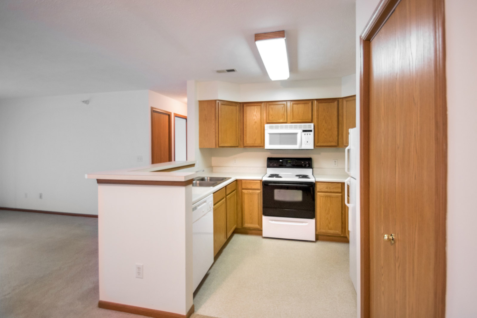 Fully-Equipped Kitchen at Northridge Apartments in Gretna, Nebraska