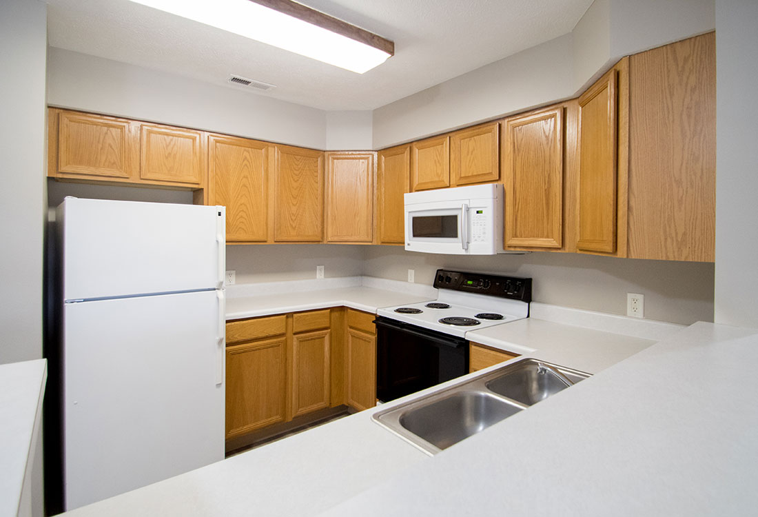 Spacious Kitchens at Northridge Apartments in Gretna, Nebraska