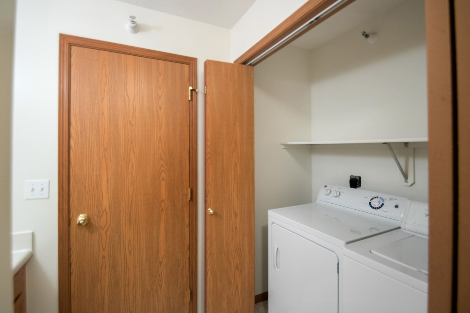 Washer and Dryer at Northridge Apartments in Gretna, Nebraska