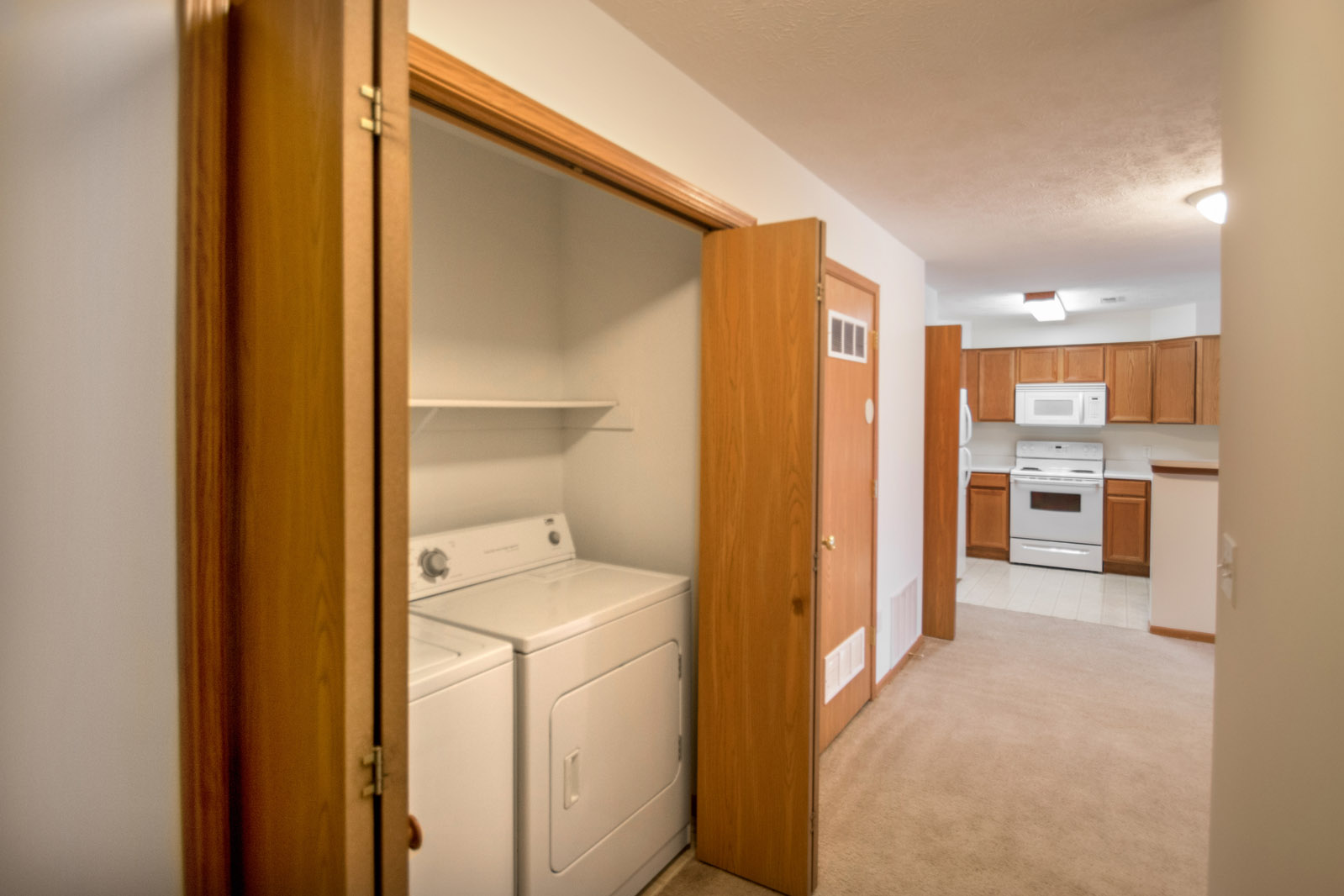 Washer and Dryers at Northridge Apartments in Gretna, Nebraska