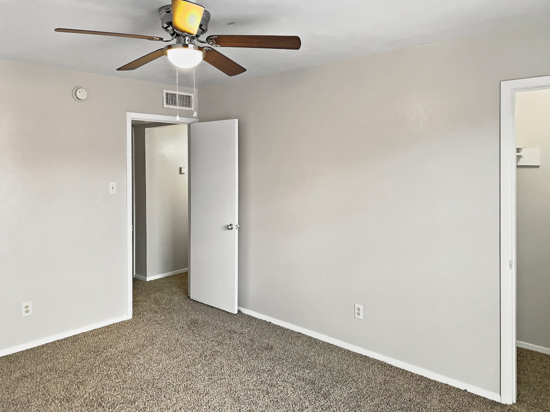 Apartments with Ceiling Fan at North Star Apartment Homes in Nacogdoches, Texas