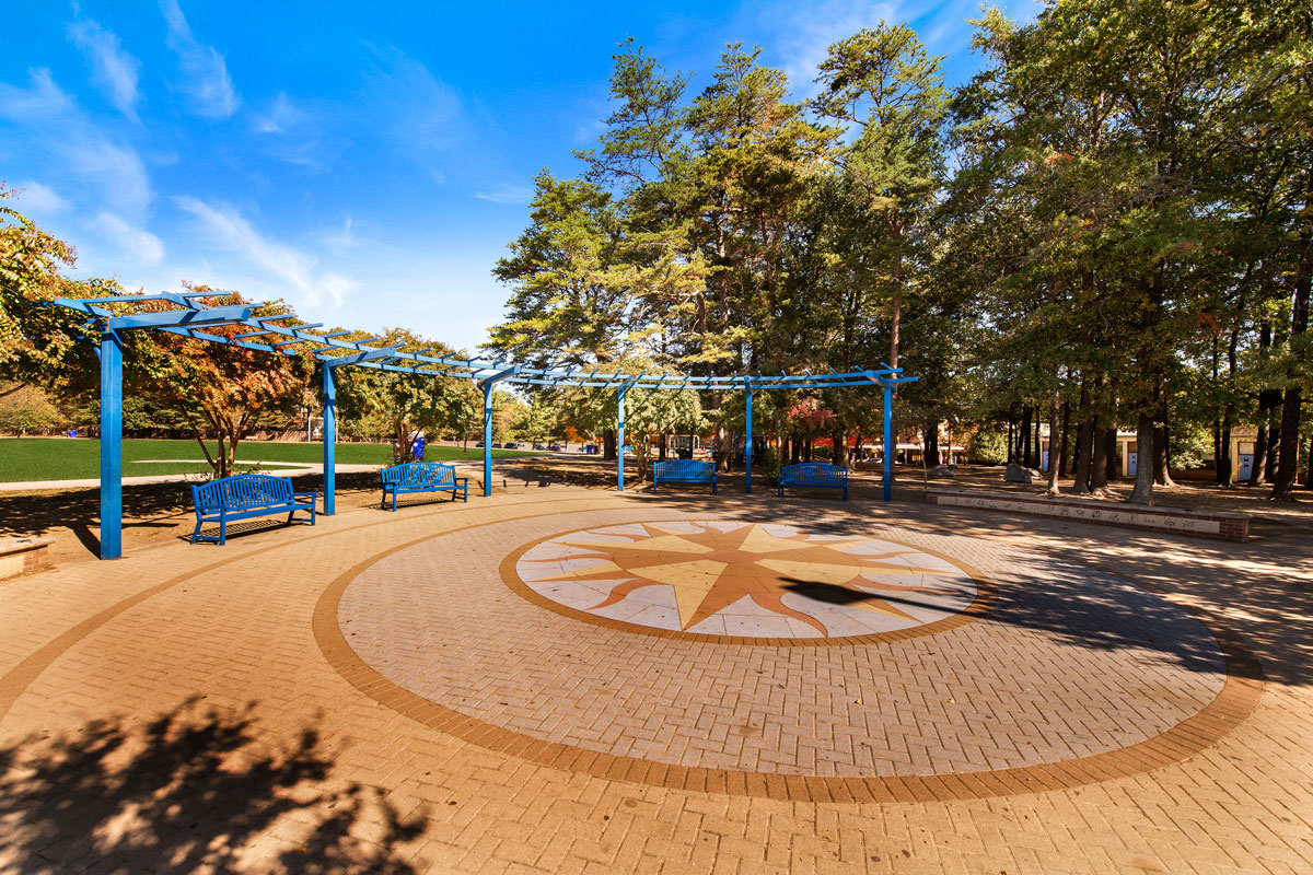 Broadacres Park is next door to Northwest Park Apartments in Silver Spring, MD