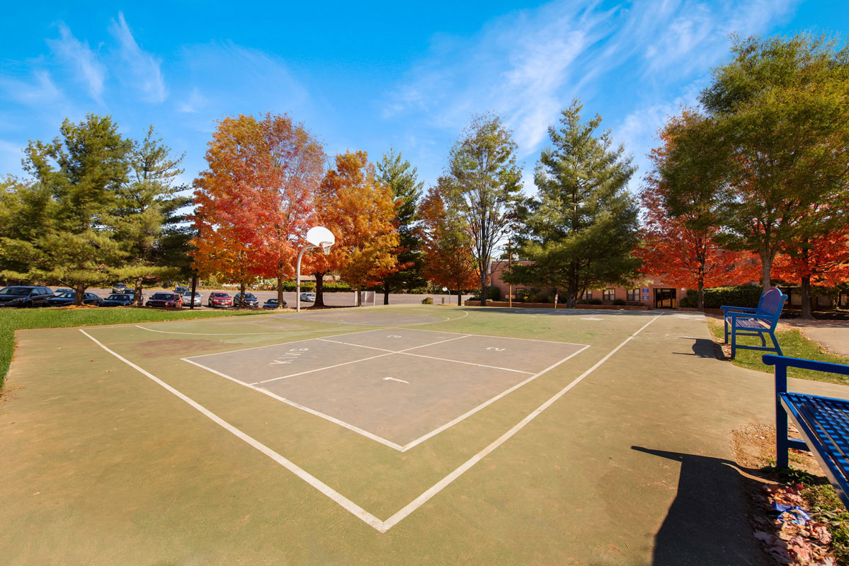 Multi-use court next to Northwest Park Apartments in Silver Spring, MD