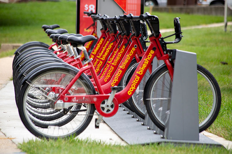 Capital Bikeshare is 5 minutes from Northwest Park Apartments in Silver Spring, MD