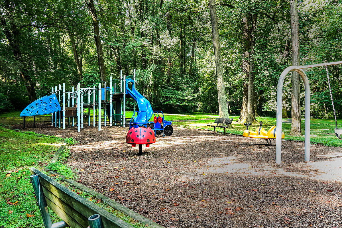 5 minutes to play area at Sligo Creek Park