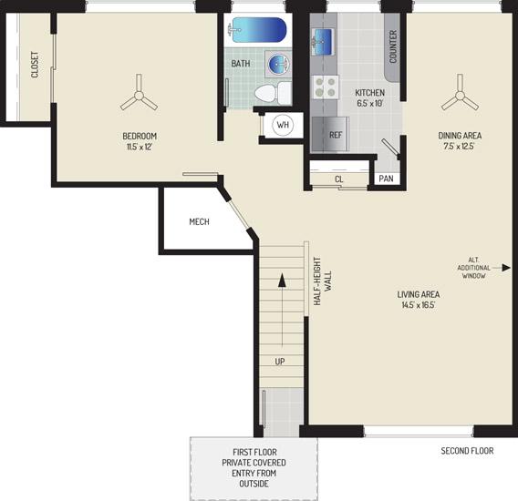 Northwest Park Apartments - Apartment 06P303-A-G1