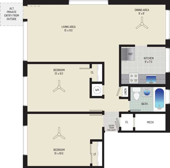 Northwest Park Apartments - Apartment 06B548-B-H1