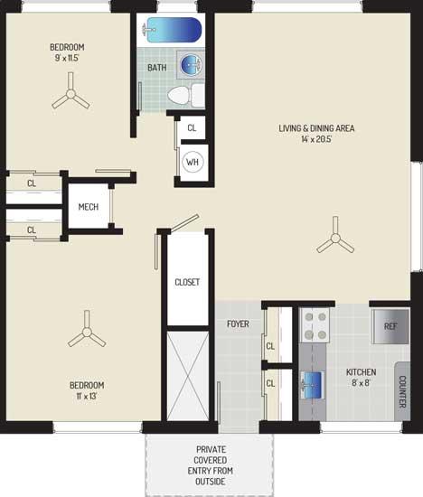 Northwest Park Apartments - Apartment 06C144-A-I1