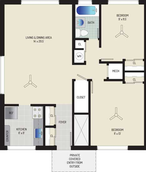 Northwest Park Apartments - Apartment 06S560-A-I2