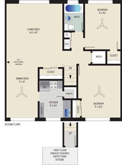 Northwest Park Apartments - Apartment 06S316-A-O2