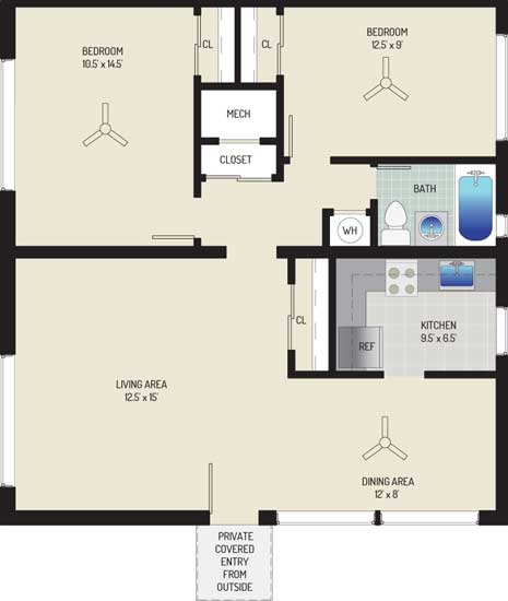 Northwest Park Apartments - Apartment 06N722-A-Q1
