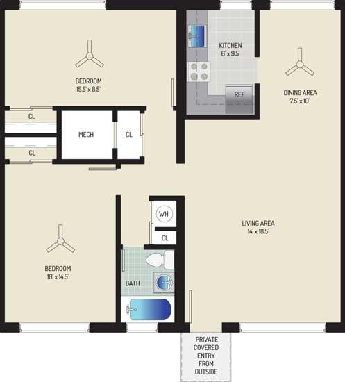 Northwest Park Apartments - Apartment 06S419-A-S1
