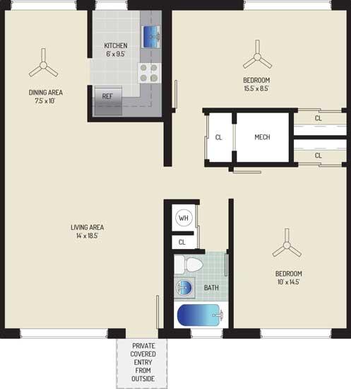 Northwest Park Apartments - Apartment 06N931-A-S2