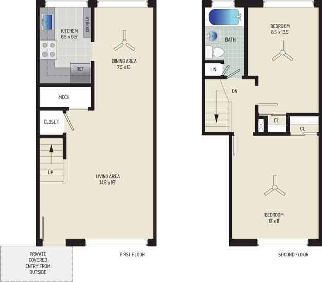 Northwest Park Apartments - Apartment 06B630-A-U2