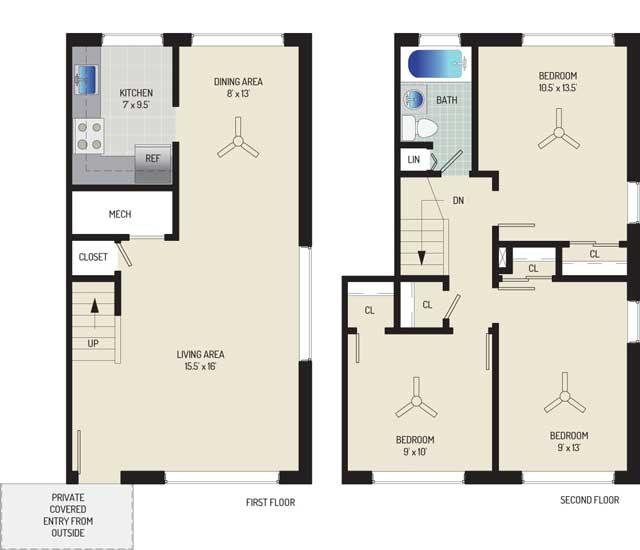 Northwest Park Apartments - Apartment 06P317-A-W2
