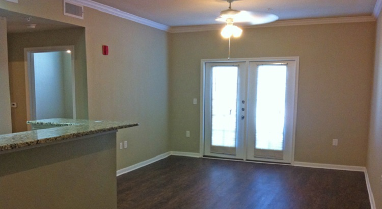 Interior of the Oakland Hills Apartments at Floresville, TX