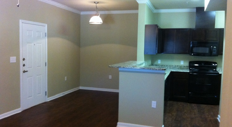 Kitchen Interior of the Oakland Hills Apartments at Floresville, TX