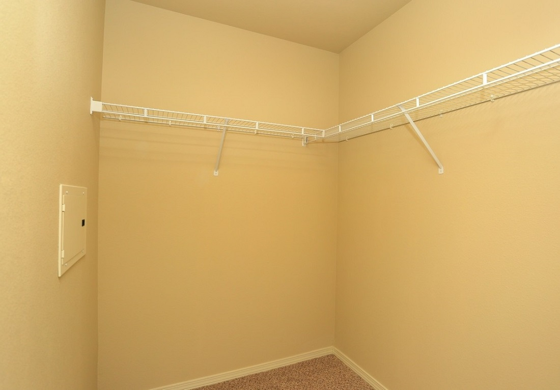 Walk-in Closet at the Oakmont Apartment Homes in Catoosa, OK
