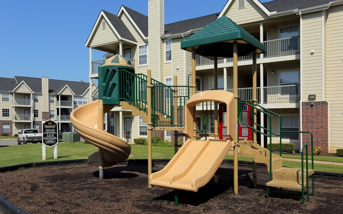 Playground at the Oakmont Apartment Homes in Catoosa, OK