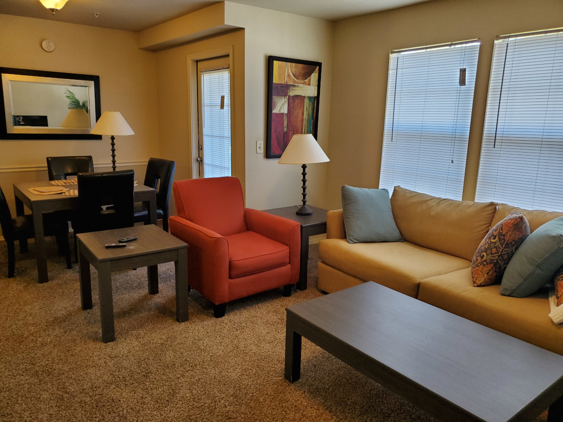 Resident Clubhouse at the Oakmont Apartment Homes in Catoosa, OK