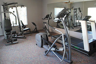 State-Of-The-Art Fitness Center at the Oak Pointe Apartment Homes in Simpsonville , SC