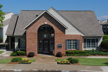 Club House Entrance at the Oak Pointe Apartment Homes in Simpsonville , SC