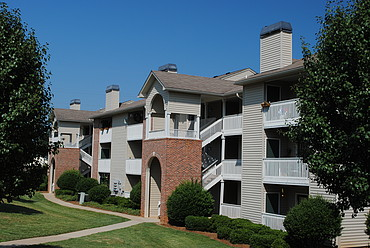 Front View at the Oak Pointe Apartment Homes in Simpsonville , SC
