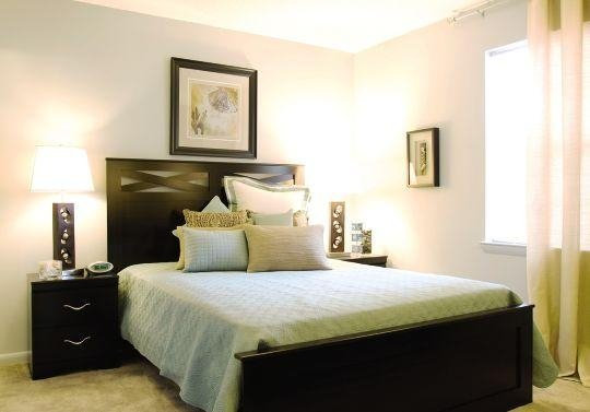 Bedroom at the Oak Pointe Apartment Homes in Simpsonville , SC