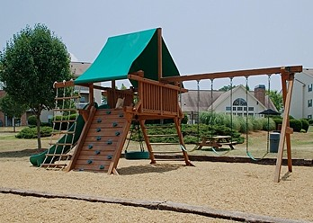 Fun-Filled Playground  at the Oak Pointe Apartment Homes in Simpsonville , SC
