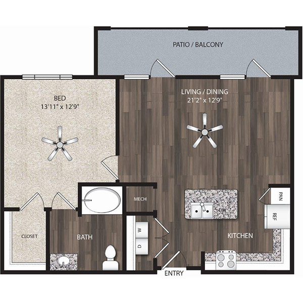 Oaks 55 - Floorplan - A10