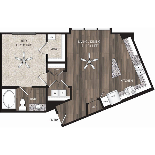 Oaks 55 - Floorplan - A4