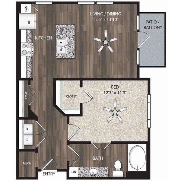 Floorplan - A6 image